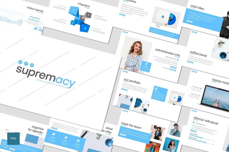 Supremacy - Keynote Template, 08300, Presentation Templates — PoweredTemplate.com