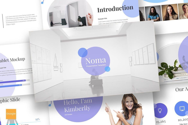 Noma - Google Slides Template, 08302, Presentation Templates — PoweredTemplate.com