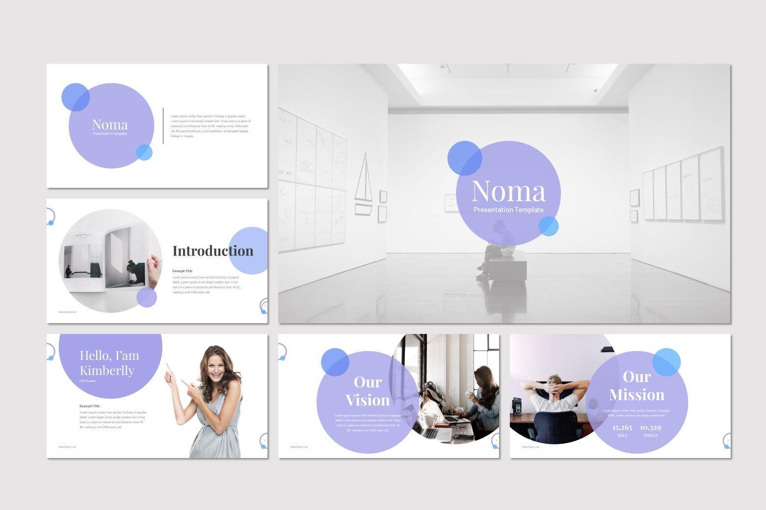 Noma - Google Slides Template, Slide 2, 08302, Presentation Templates — PoweredTemplate.com