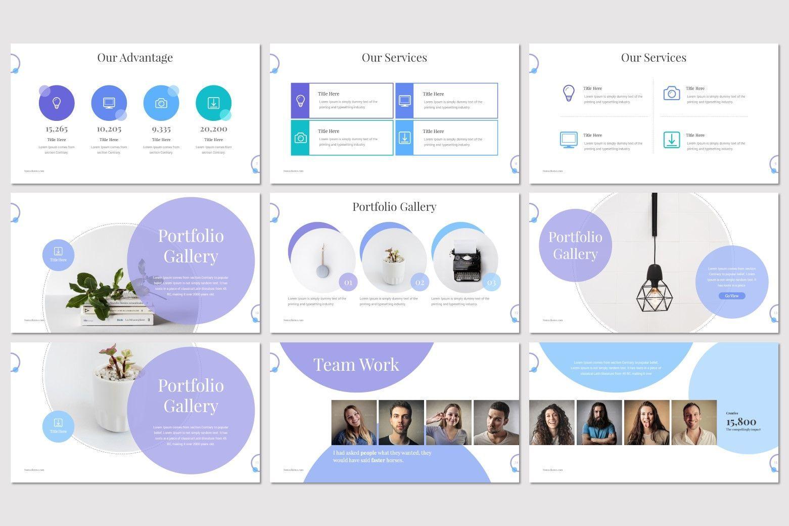Noma - Google Slides Template, Slide 3, 08302, Presentation Templates — PoweredTemplate.com