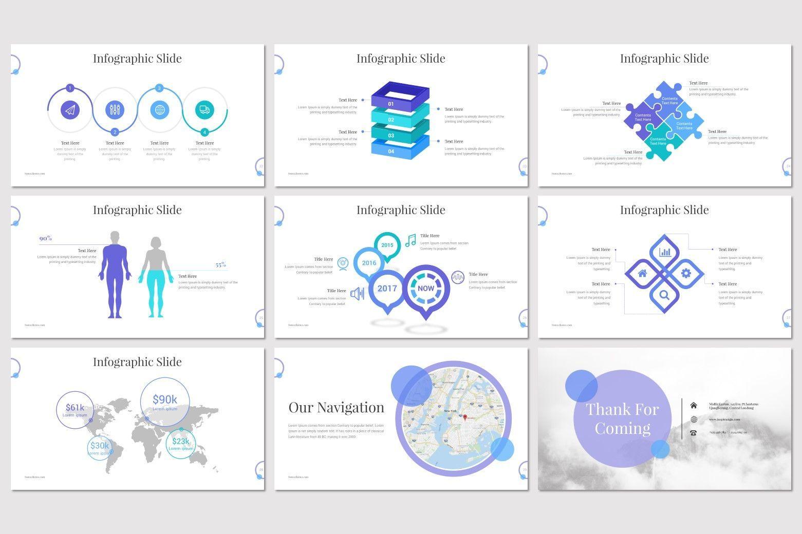 Noma - Google Slides Template, Slide 5, 08302, Presentation Templates — PoweredTemplate.com