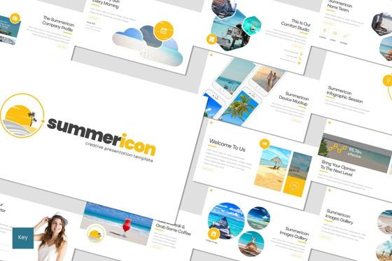 Presentation Templates: Summericon - Keynote Template #08303