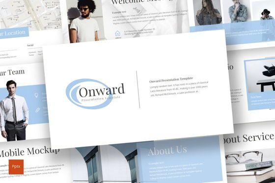 Presentation Templates: Onward - Keynote Template #08305