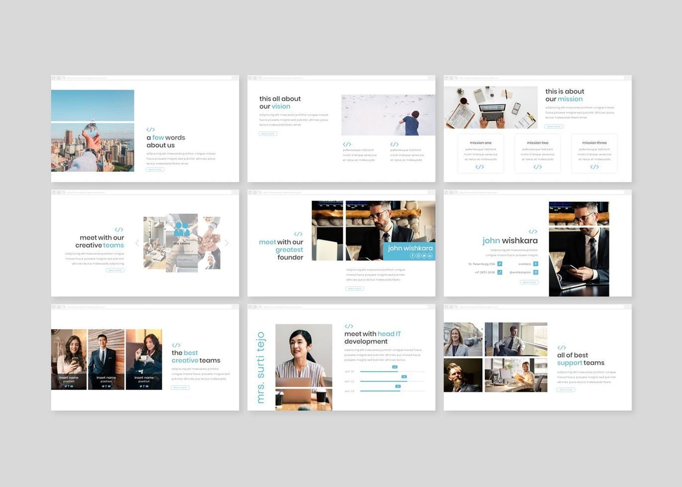 Syntax - PowerPoint Template, Slide 3, 08307, Presentation Templates — PoweredTemplate.com