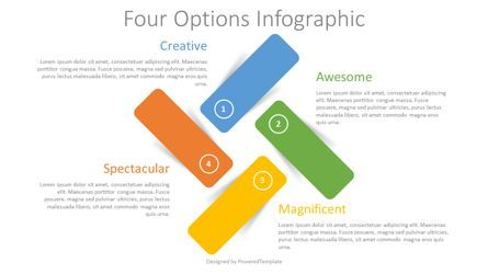 Infographics: Four Color Options Infographic #08308