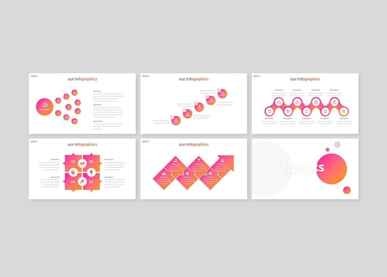 Splitter - Keynote Template, Slide 5, 08309, Presentation Templates — PoweredTemplate.com