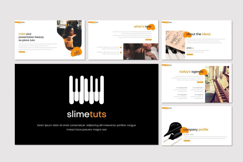 Slimetuts - Keynote Template, Slide 2, 08313, Presentation Templates — PoweredTemplate.com