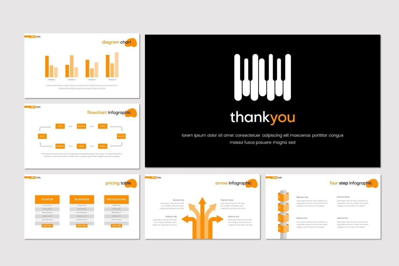 Slimetuts - Keynote Template, Slide 5, 08313, Presentation Templates — PoweredTemplate.com