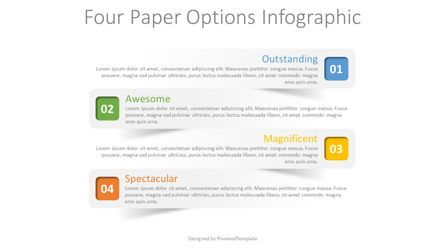 Infographics: 4 Paper Options Infographic #08319