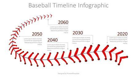 Timelines & Calendars: Baseball Timeline Infographic #08325