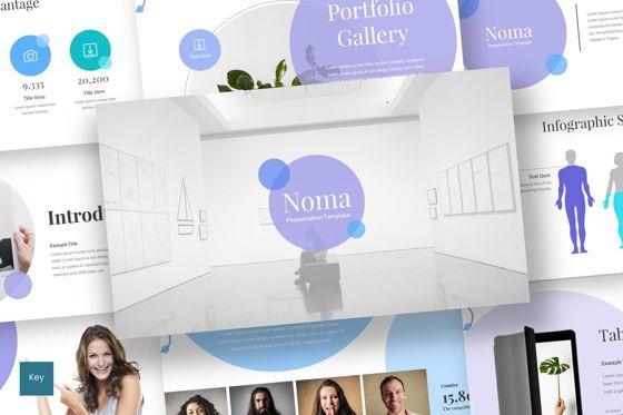 Presentation Templates: Noma - Keynote Template #08327