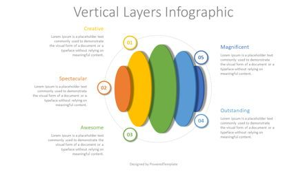 Infographics: Vertical Layers Infographic #08328