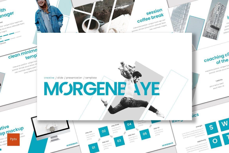 Morgenbaye - PowerPoint Template, 08330, Presentation Templates — PoweredTemplate.com