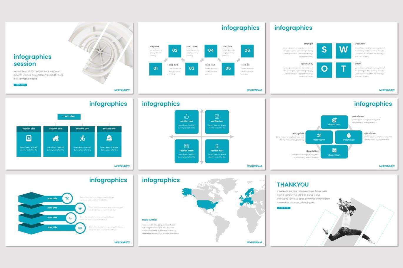 Morgenbaye - PowerPoint Template, Slide 5, 08330, Presentation Templates — PoweredTemplate.com
