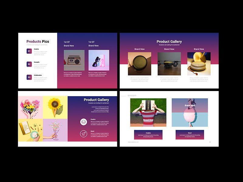 UNICORN Startup Pitch Deck Template PPTX, Slide 11, 08334, Presentation Templates — PoweredTemplate.com