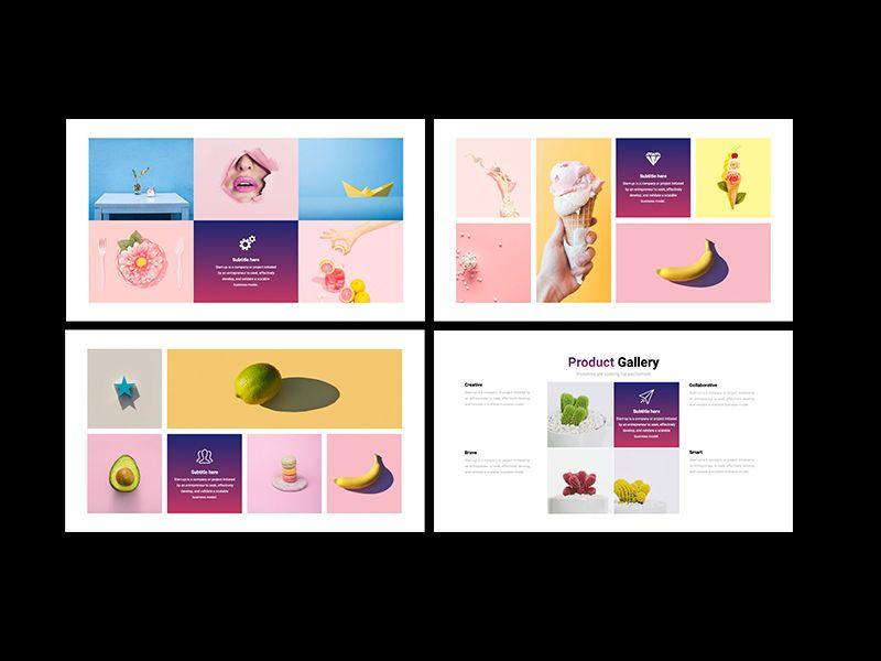 UNICORN Startup Pitch Deck Template PPTX, Slide 12, 08334, Presentation Templates — PoweredTemplate.com