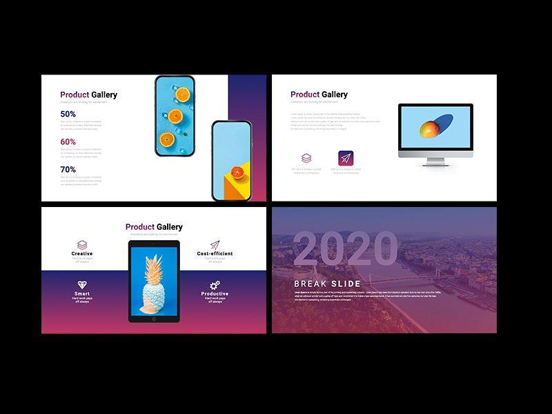 UNICORN Startup Pitch Deck Template PPTX, Slide 14, 08334, Presentation Templates — PoweredTemplate.com