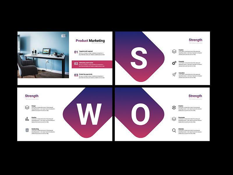 UNICORN Startup Pitch Deck Template PPTX, Slide 4, 08334, Presentation Templates — PoweredTemplate.com