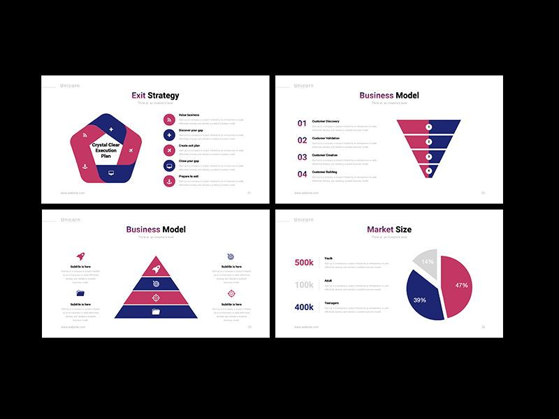 UNICORN Startup Pitch Deck Template PPTX, Slide 7, 08334, Presentation Templates — PoweredTemplate.com