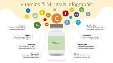 Infographics: Vitamins and Minerals Infographic #08346