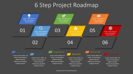 Infographics: 6 Step Project Roadmap #08351