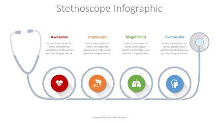 Infographics: Stethoscope Infographic #08358