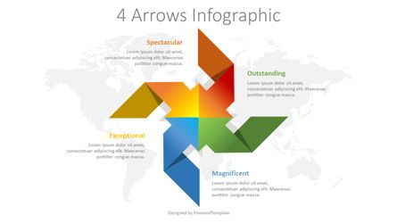 Infographics: Four Arrows Infographic #08393