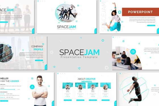 Presentation Templates: Spacejam - Powerpoint Template #08394