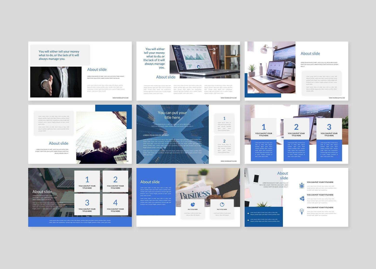 Finanza - Finance Google Slides Template, Slide 3, 08397, Business Models — PoweredTemplate.com