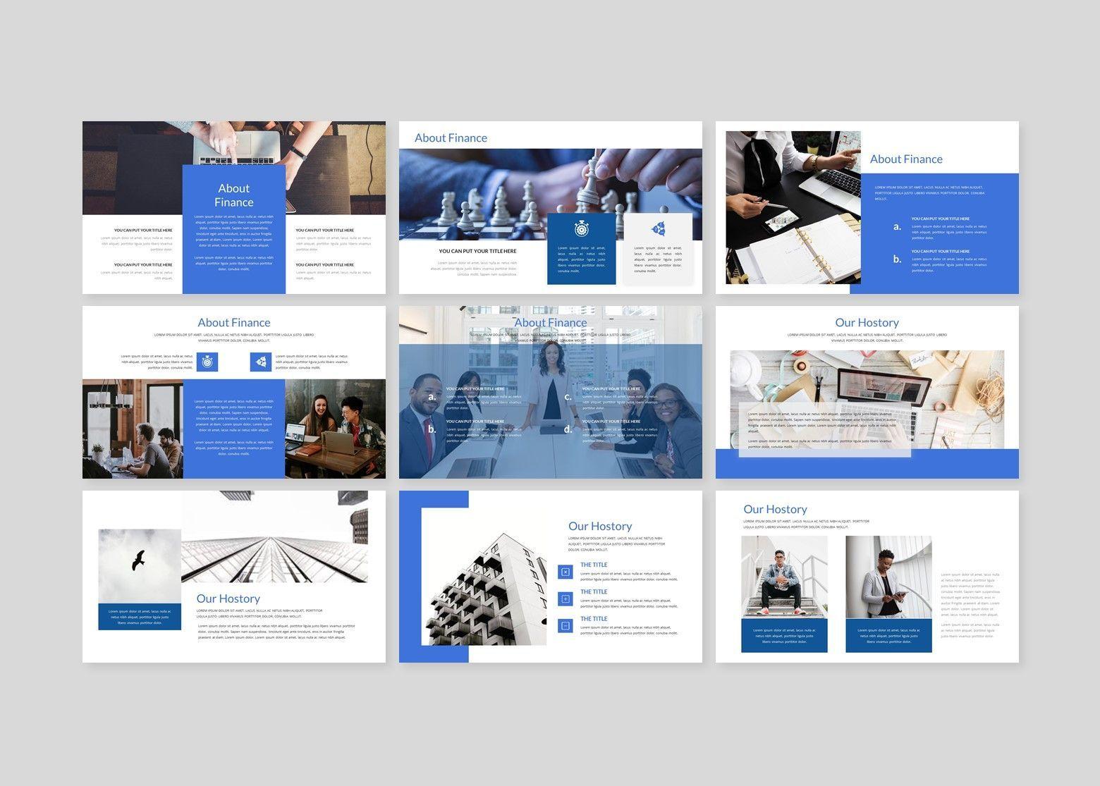 Finanza - Finance Google Slides Template, Slide 4, 08397, Business Models — PoweredTemplate.com