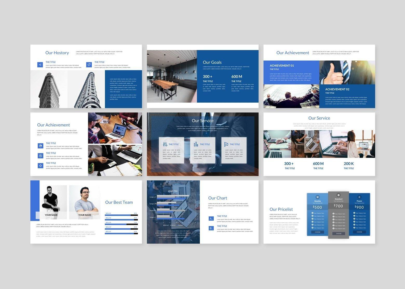 Finanza - Finance Google Slides Template, Slide 5, 08397, Business Models — PoweredTemplate.com