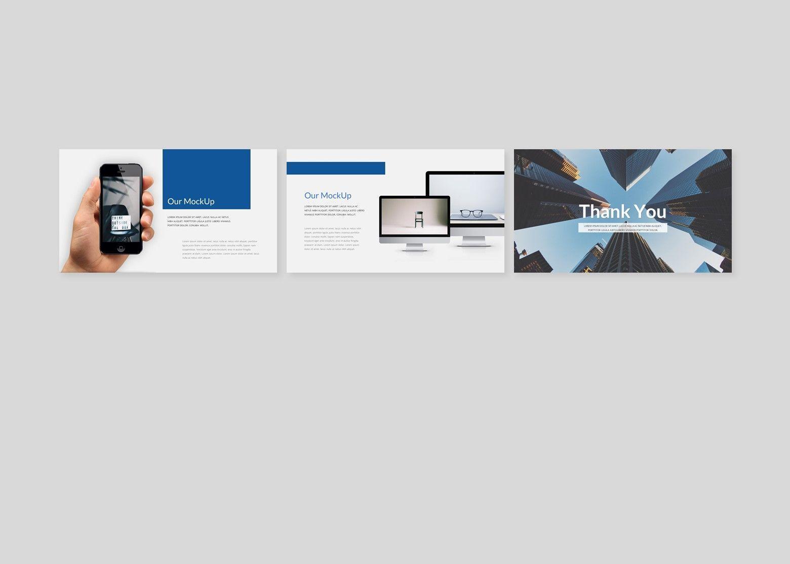 Finanza - Finance Google Slides Template, Slide 6, 08397, Business Models — PoweredTemplate.com