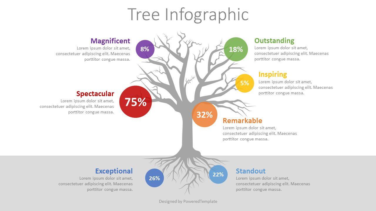 Three with Round Options Infographic, 08411, Infographics — PoweredTemplate.com