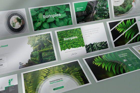 Business Models: Rompies Google Slide Templates #08422