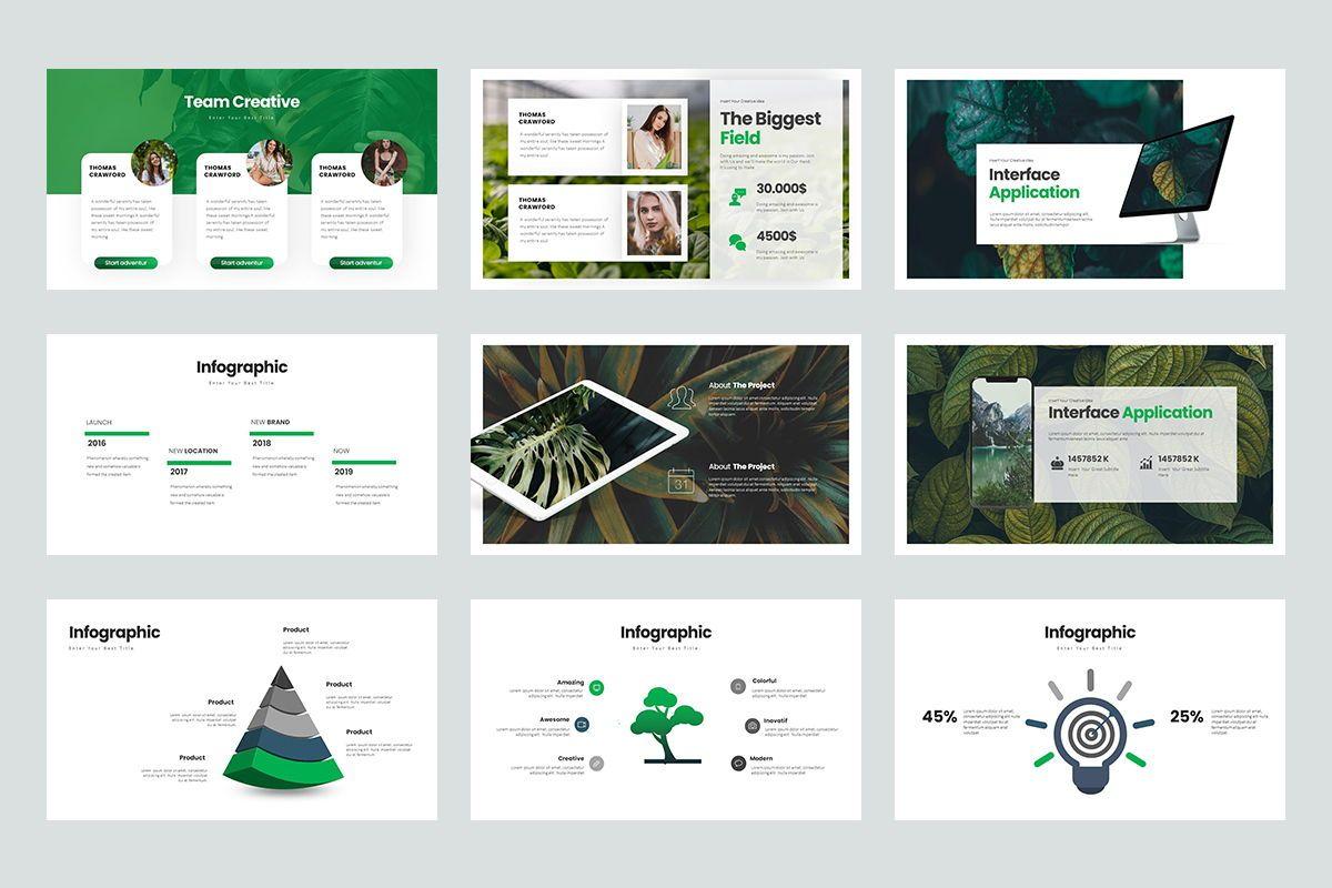 Rompies Google Slide Templates, Slide 4, 08422, Business Models — PoweredTemplate.com