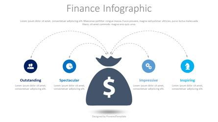 Infographics: Finance Infographic with Icons #08426