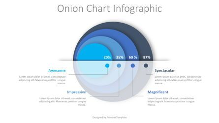 Infographics: Onion Diagram Infographic #08432
