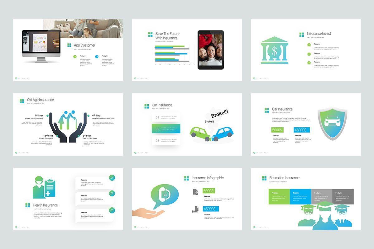 Insurance Google Slide Templates, Slide 4, 08434, Business Models — PoweredTemplate.com