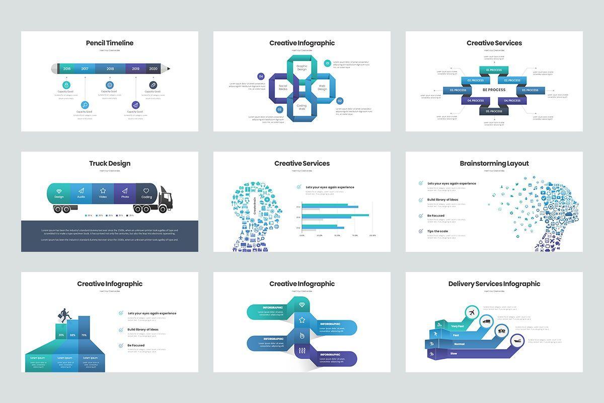 Business Trick Google Slide Templates, Slide 4, 08437, Business Models — PoweredTemplate.com