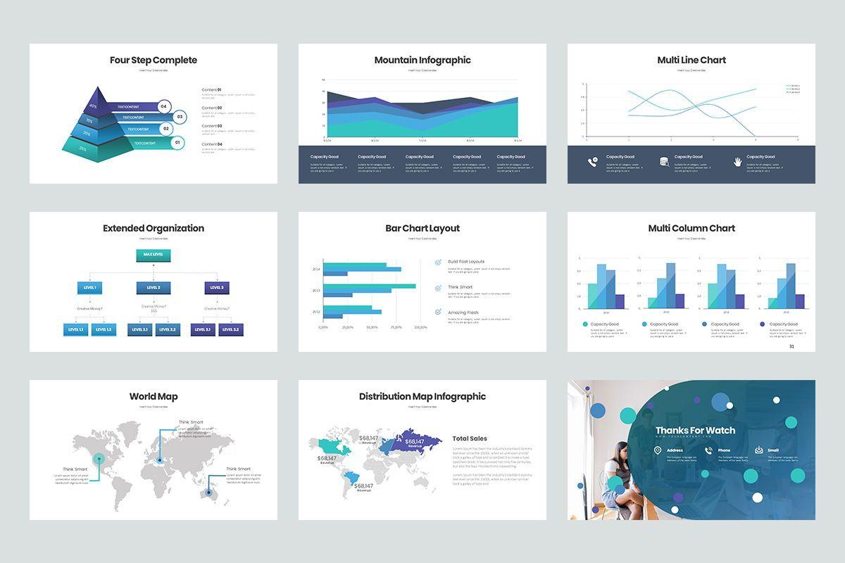 Business Trick Google Slide Templates, Slide 5, 08437, Business Models — PoweredTemplate.com