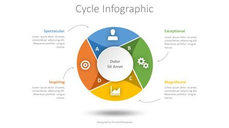 Process Diagrams: Cycle Diagram Infographic #08443