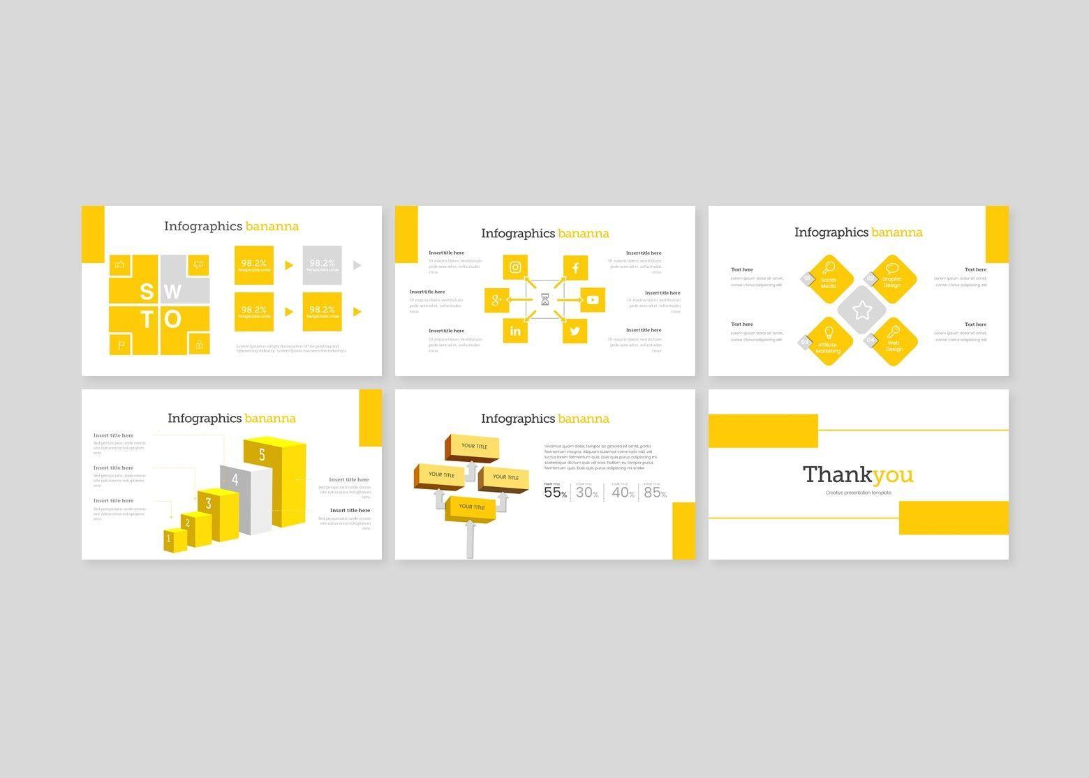 Bananna – Creative Google Slide Business Template, Slide 5, 08448, Business Models — PoweredTemplate.com