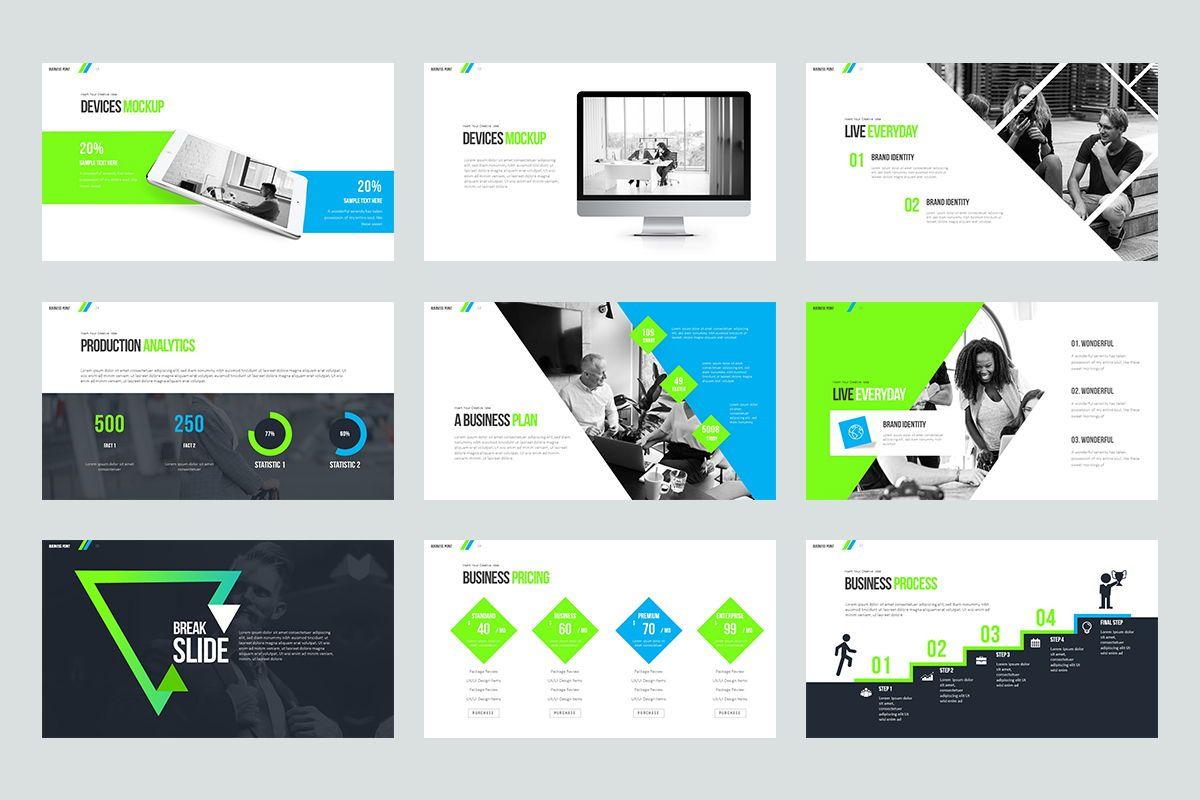 Business Point Keynote Templates, Slide 4, 08449, Business Models — PoweredTemplate.com