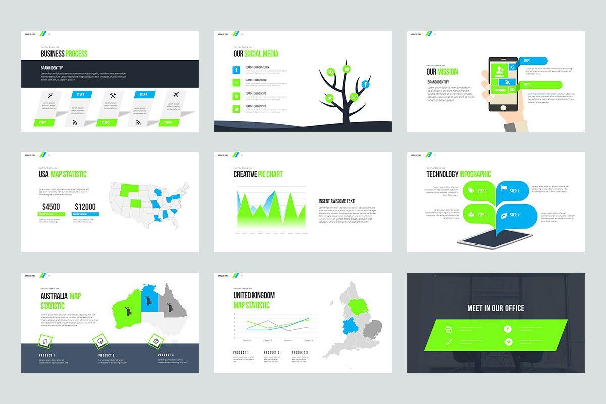 Business Point Keynote Templates, Slide 5, 08449, Business Models — PoweredTemplate.com