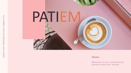Presentation Templates: Patiem – Creative Professional Business PowerPoint Template #08452
