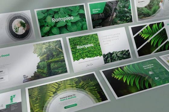 Business Models: Rompies Keynote Templates #08457