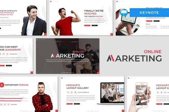 Business Models: Marketing - Keynote Template #08462