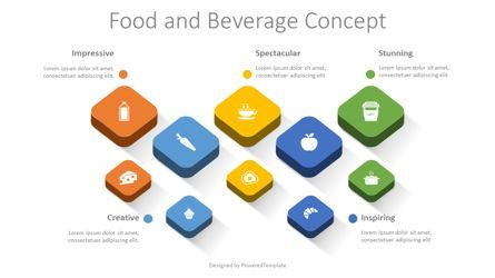 Infographics: Food and Beverage Concept #08465