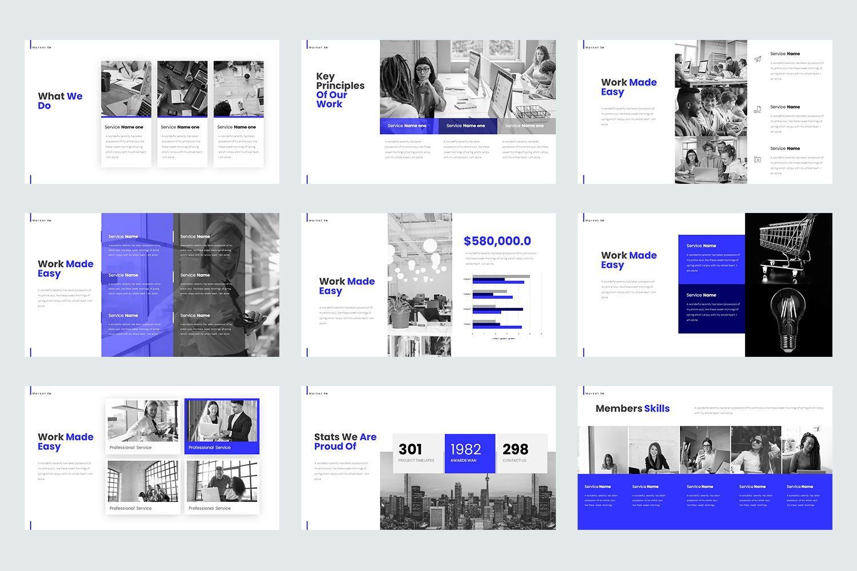 Market In Google Slide Templates, Slide 3, 08467, Business Models — PoweredTemplate.com