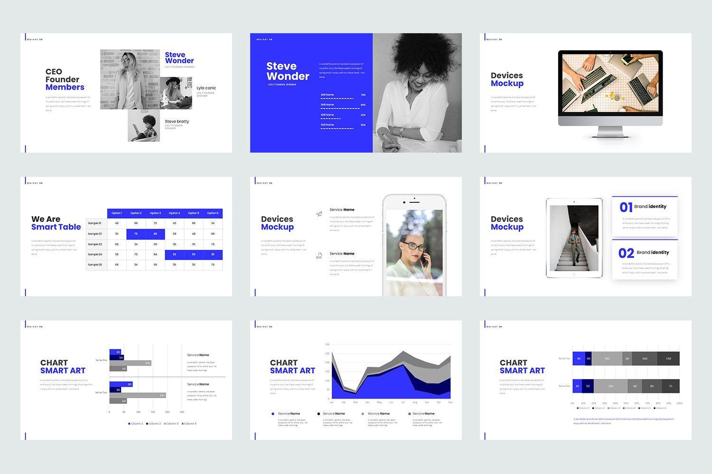 Market In Google Slide Templates, Slide 4, 08467, Business Models — PoweredTemplate.com